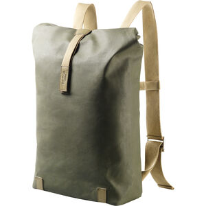 Brooks Pickwick Canvas Rucksack Medium sage green/marsh green