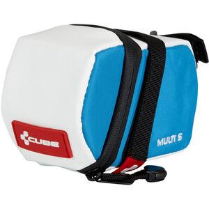 Cube Teamline Multi S Satteltasche weiß/blau bei fahrrad.de Online