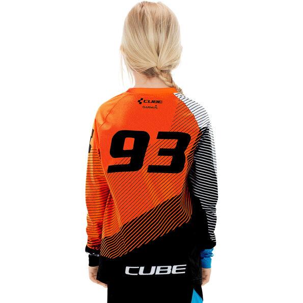 Cube Junior Edge Trikot langarm Kinder