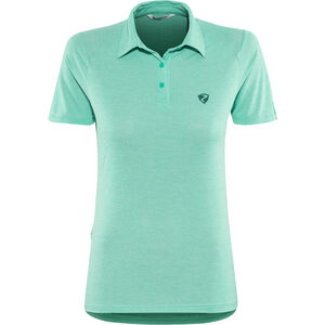 Ziener Clemenzia Polo Shirt Damen mermaid melange mermaid melange