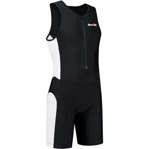 Dare2Tri Frontzip Trisuit Herren black-white black-white