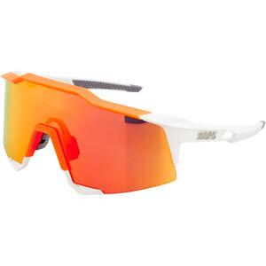 100% Speedcraft HD Multilayer/Hiper Glasses Tall white/neon orange white/neon orange