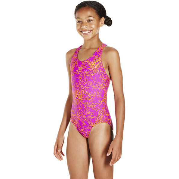 speedo Boom Allover Splashback Swimsuit