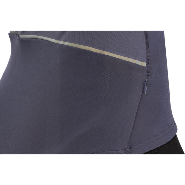 Odlo Zeroweight Warm 1/2 Zip Midlayer Damen odyssey gray