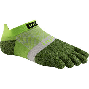 Injinji Run Xtralife Lightweight No Show Socks Herren chive