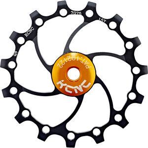 KCNC Jockey Wheel Original SS Bearing Long Teeth 15 Zähne black black