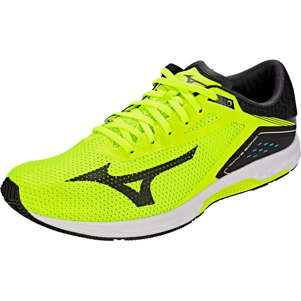 0987a6ec56 ... Mizuno Wave Sonic Running Shoes Men safety yellow/black/white safety  yellow/black ...