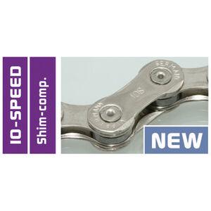 Wippermann Connex 10S8 Schaltungskette 10 fach grau bei fahrrad.de Online