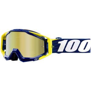 100% Racecraft Anti Fog Mirror Goggles bibal/navy bibal/navy