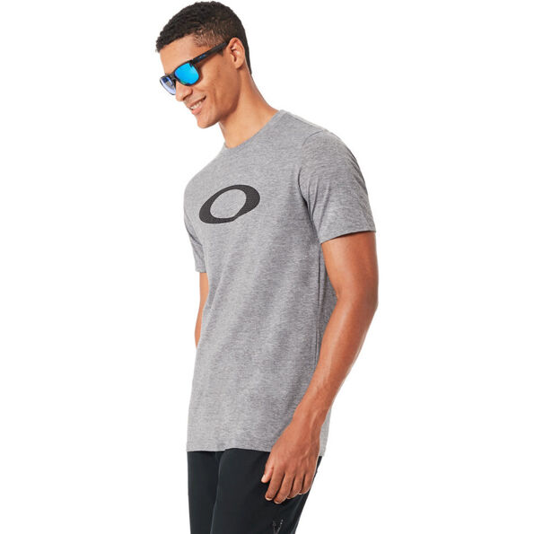 Oakley So-Mesh Ellipse Tee Men Athletic Heather Grey