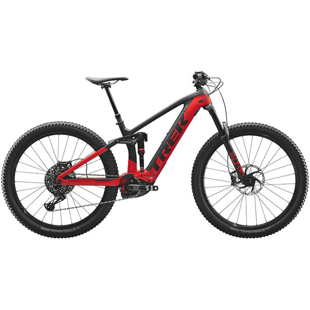 Trek Rail 9.8 matte trek black/gloss viper red