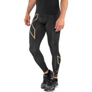 2XU MCS Run Compression Tights Men black/gold reflective bei fahrrad.de Online