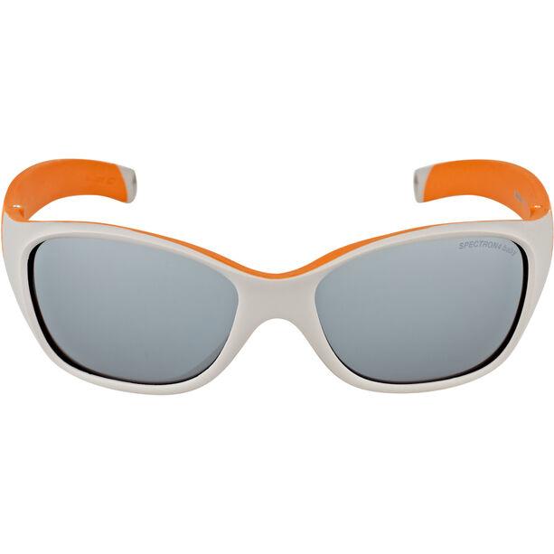 Julbo Solan Spectron 4 Sonnenbrille 4-6Y Kinder gray/orange-gray flash silver