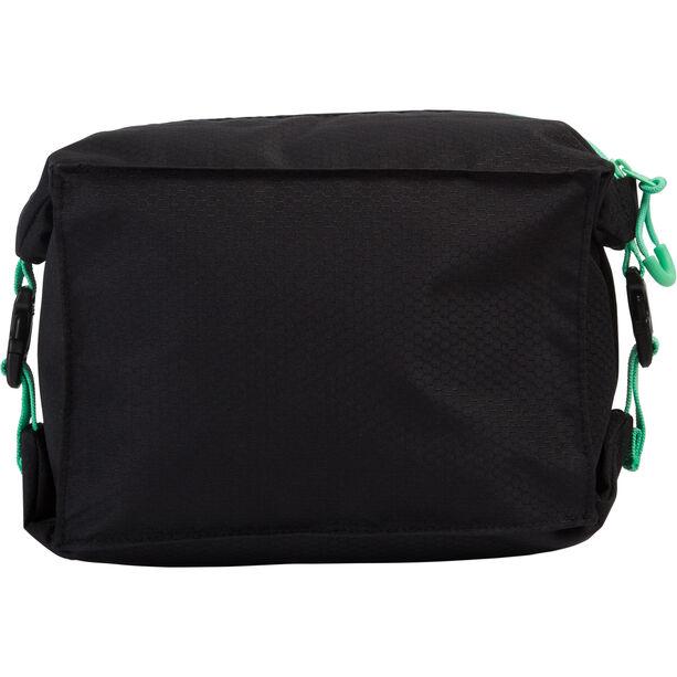 speedo Pool Side Bag black/green glow