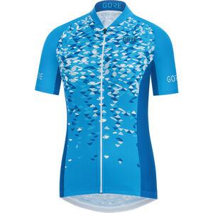 GORE WEAR C3 Petals Jersey Damen dynamic cyan/ciel blue dynamic cyan/ciel blue