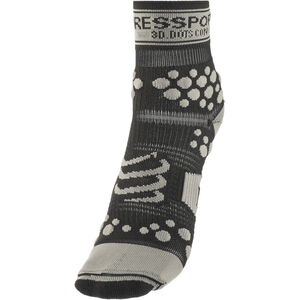 Compressport Racing V2 Trail High Socks black/grey black/grey