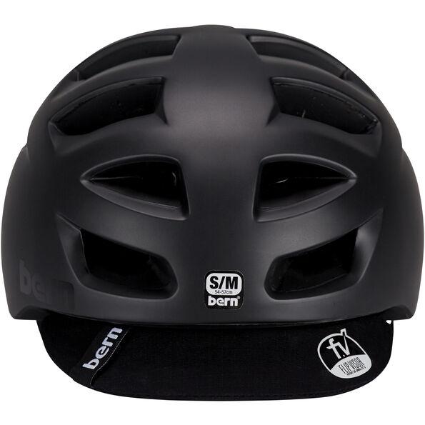 Bern Allston Helm inkl. Flip-Visier matt-schwarz