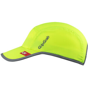 GripGrab Lightweight Hi-Vis Running Cap fluo yellow fluo yellow
