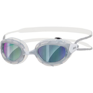 Zoggs Predator Brille grey/white/mirror grey/white/mirror