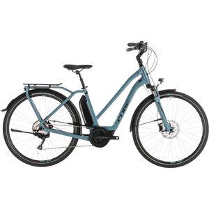 Cube Town Sport Hybrid Pro 400 Trapez Blue'n'Black bei fahrrad.de Online