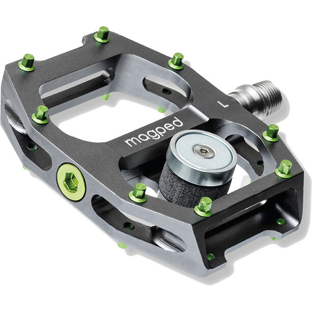 magped Ultra Magnetpedale grau