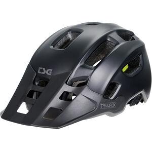 TSG Trailfox Solid Color Helmet satin black satin black