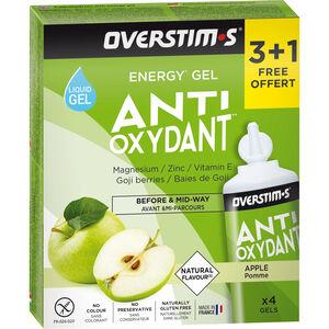 OVERSTIM.s Antioxydant Liquid Gel Box 3+1 Free 4x30g Green Apple