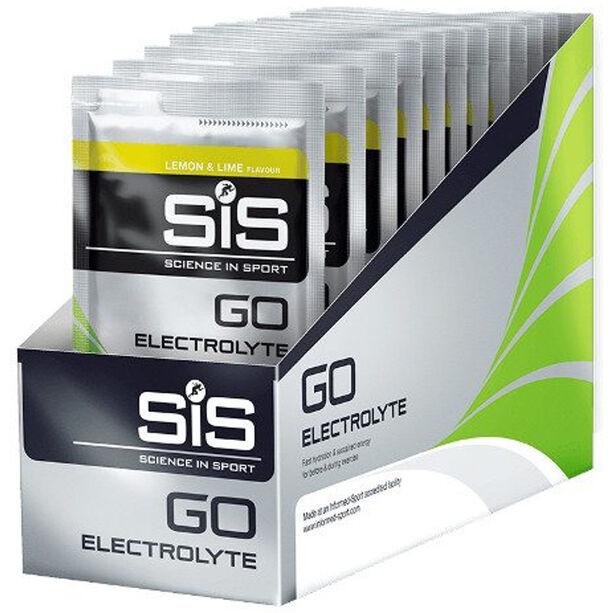 SiS GO Electrolyte Drink Box 18x40g Lemon/Lime