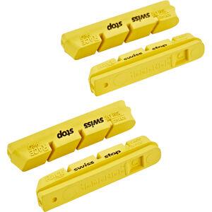 SwissStop RacePro Bremsbeläge für Campagnolo 10/11s Carbon gelb gelb