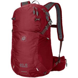 Jack Wolfskin Moab Jam 24 Backpack red maroon