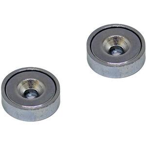 magped M100 Neodym Magnete silber