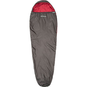 CAMPZ Trekker light 300 XL Schlafsack anthrazit/rot