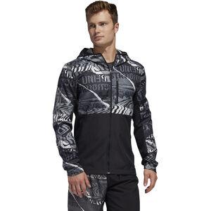 adidas OWN The Run Jacke Herren black/grey one/grey six black/grey one/grey six