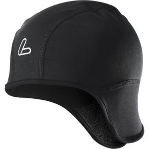 Löffler Cycling cap WS Softshell Warm schwarz schwarz