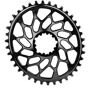 absoluteBLACK Cyclocross Ovales Kettenblatt für SRAM XX1 Spiderless black black