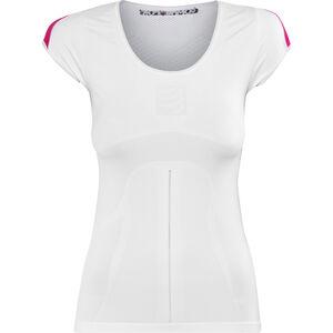 Compressport Trail Running V2 SS Shirt Damen white white