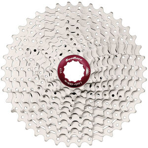 SunRace CSMX3 Kassette 10-fach metallic metallic