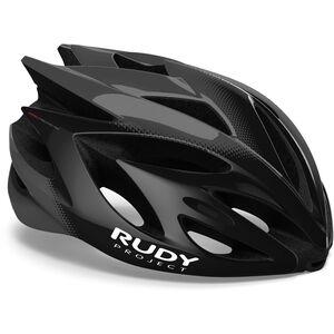 Rudy Project Rush Helmet black/titanium shiny black/titanium shiny