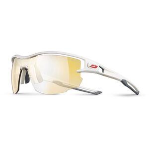Julbo Aero Zebra Light Sunglasses white/gray-yellow/brown white/gray-yellow/brown