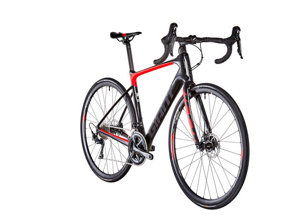 Giant Defy Advanced 1 HRD carbon/pure red