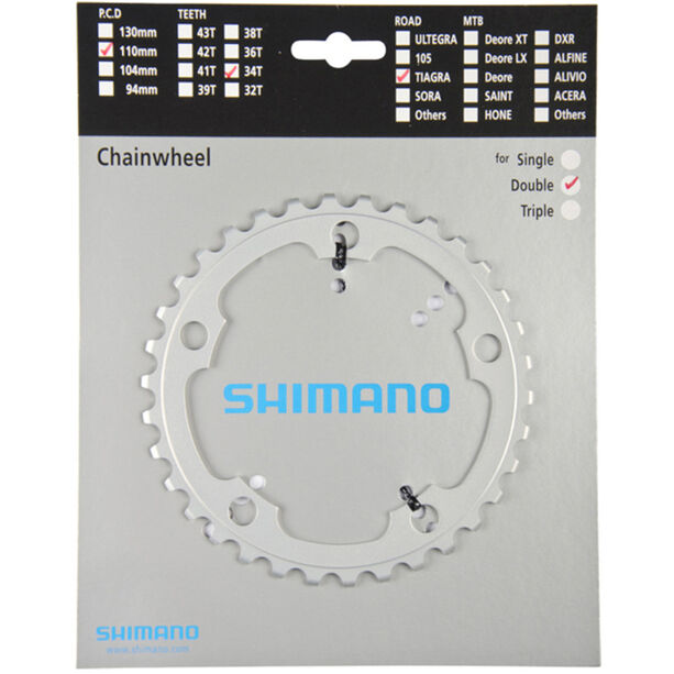 Shimano Tiagra FC-4650 Kettenblatt silver