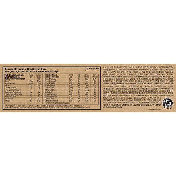 CLIF Bar Energy Riegel Box 12x68g Chocolate Chip
