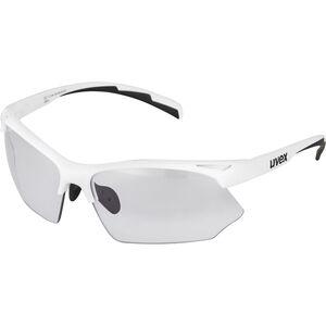 UVEX Sportstyle 802 V Sportglasses white bei fahrrad.de Online