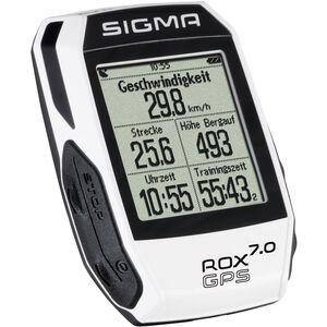 SIGMA SPORT ROX 7.0 GPS Fahrradcomputer weiß bei fahrrad.de Online