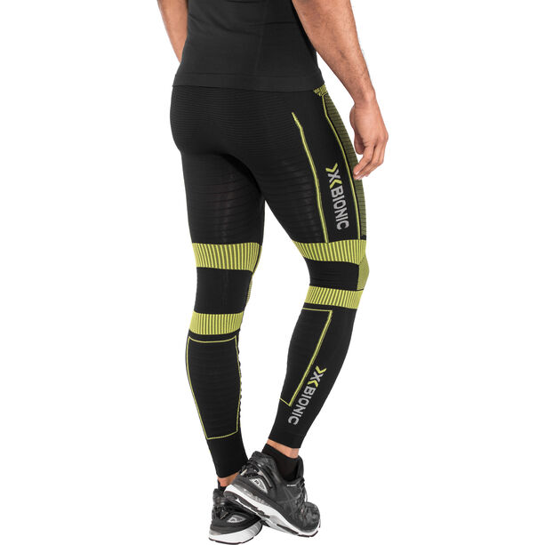 X-Bionic Effektor Power OW Long Pants Herren black/yellow