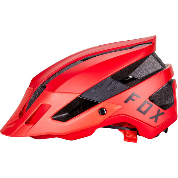 Fox Flux Helmet bright red