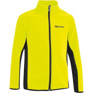 Gonso Moritz Softshell Jacke Kinder safety yellow/black safety yellow/black