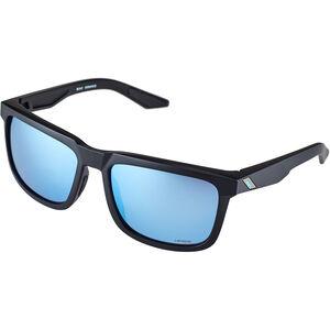 100% Blake Hiper Mirror Glasses matte black matte black