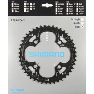 Shimano Deore FC-M480 Kettenblatt für Kettenschutzring schwarz schwarz