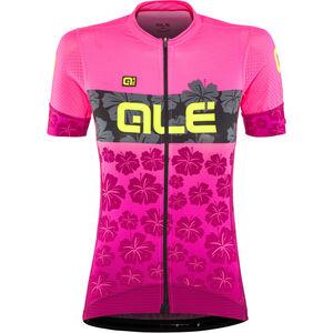 Alé Cycling PRS Ibisco SS Jersey Damen prune-flou pink prune-flou pink